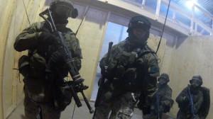 GoPron kuvaa sotilaan näkökulmasta